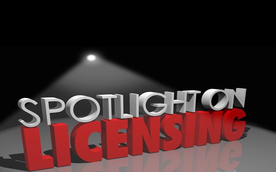 Spotlight on licensing image