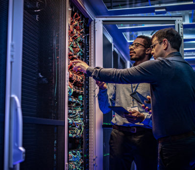 IT professionals perform IT services